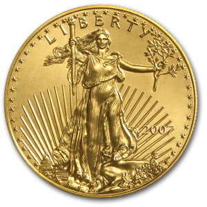 2007 1 oz Gold American Eagle MS-69 NGC